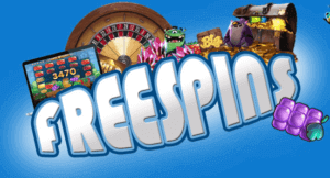 free spins bonus icon with a roulette wheel and slot machine