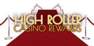 high roller casinos reward icon on red carpet