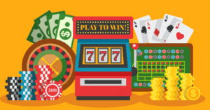 variety of casino games