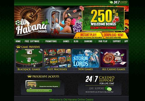 old havana casino bonus