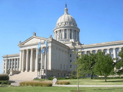 Oklahoma state capitol tribal nations negotiations