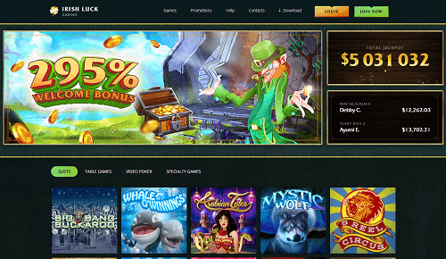 Irish Luck Casino Review