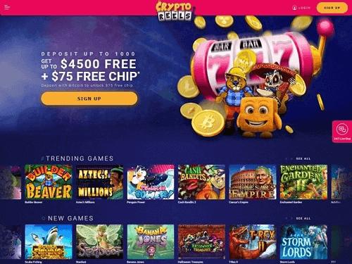 Crypto Reels Casino Rating