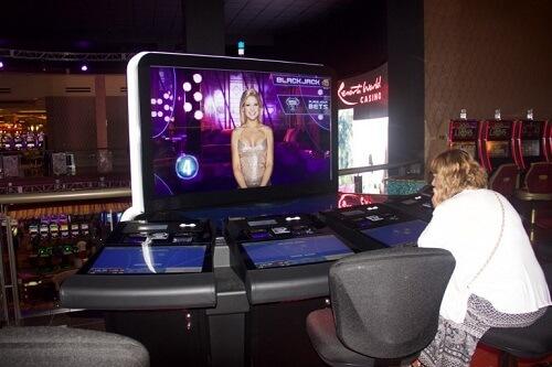 video blackjack casinos