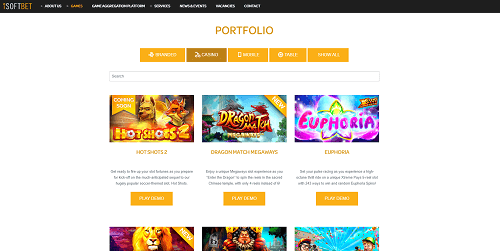 iSoftbet Casinos Games