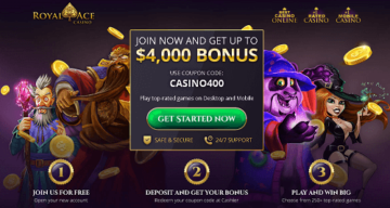 royal ace casino rating