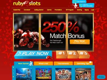 Ruby Slots Casino Online