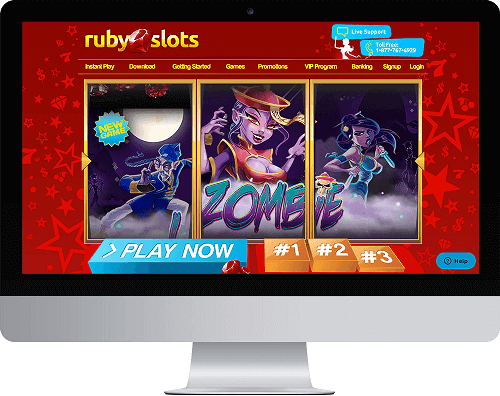 Ruby Slots Casino Website
