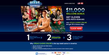 vegas casino online bonus offer