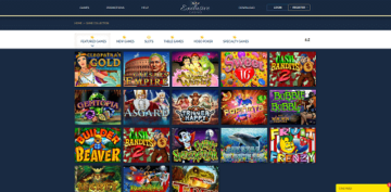 Exclusive Casino Game Selection