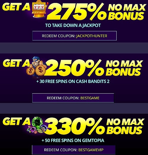 Dreams Casino No Deposit Bonus Codes