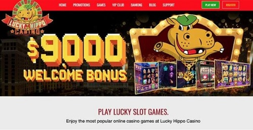 Lucky Hippo Casino Bonus Offer