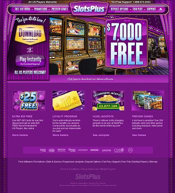 slots plus casino bonuses