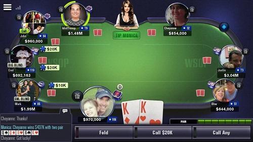 WSOP Texas Holdem App