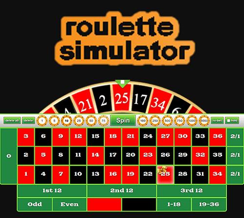 Roulette Simulator