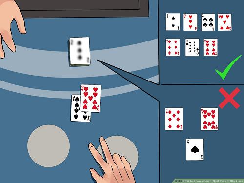 Split Blackjack Hands