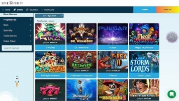 Spinfinity Casino Online