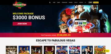 Vegas2Web Casino Lobby
