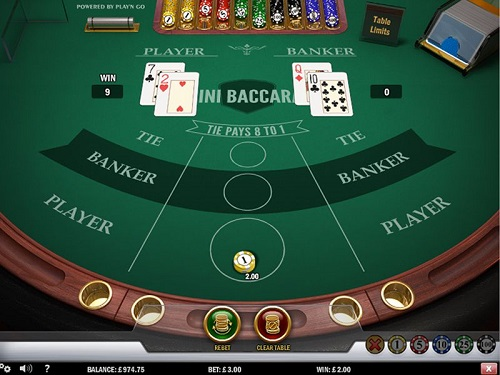 High Stakes Baccarat