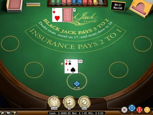 Double Down Blackjack Rules