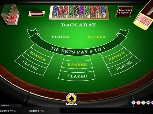 Online Baccarat Payouts