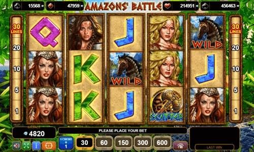 top battle slots themes