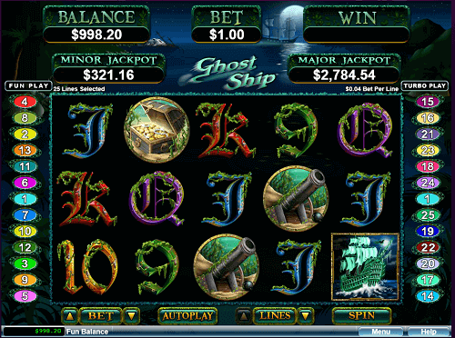 ghost ship slot review