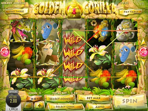 golden gorilla jungle slot
