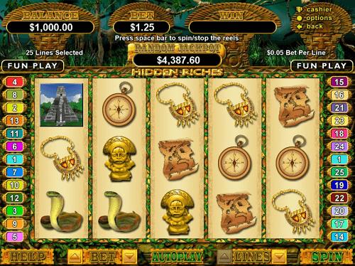 hidden riches slot