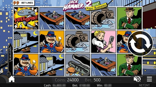 Jack Hammer 2 Winning Symbols