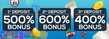 Bingo Spirit Casino Welcome Bonus