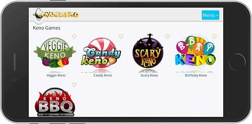 CyberBingo Casino Website