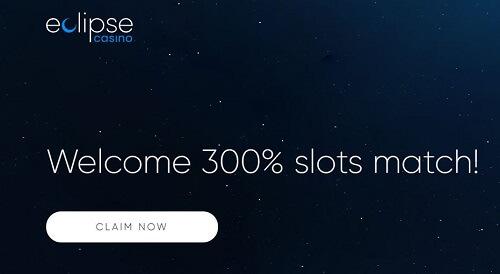 Eclipse Casino Welcome Bonuse