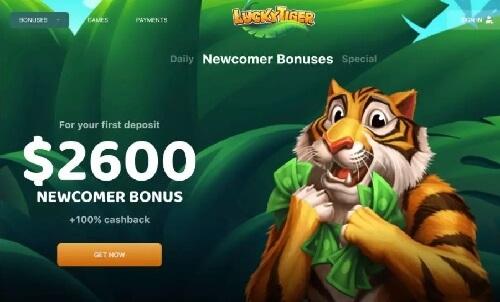 Luckyig Tiger Casino Bonus Codes