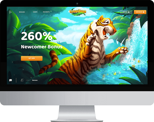 Lucky Tiger Casino Website