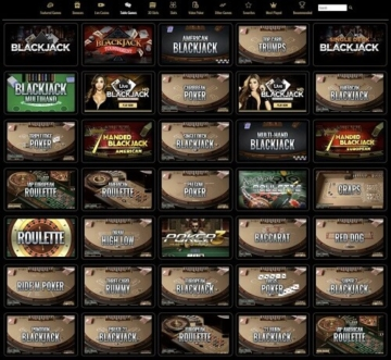 MyB Casino Games Table Games