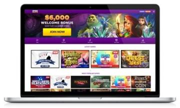 SuperSlots Casino Website