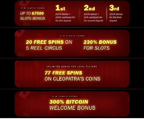 Superior Casino Bonus Codes
