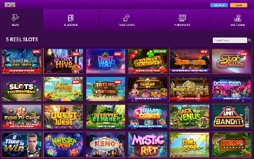 SuperSlots Casino Games