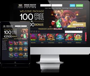 Vegas Crest Casino Website