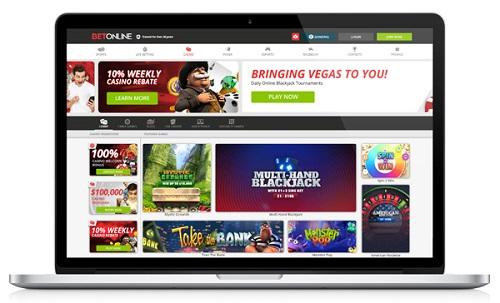 BetOnline Casino Website